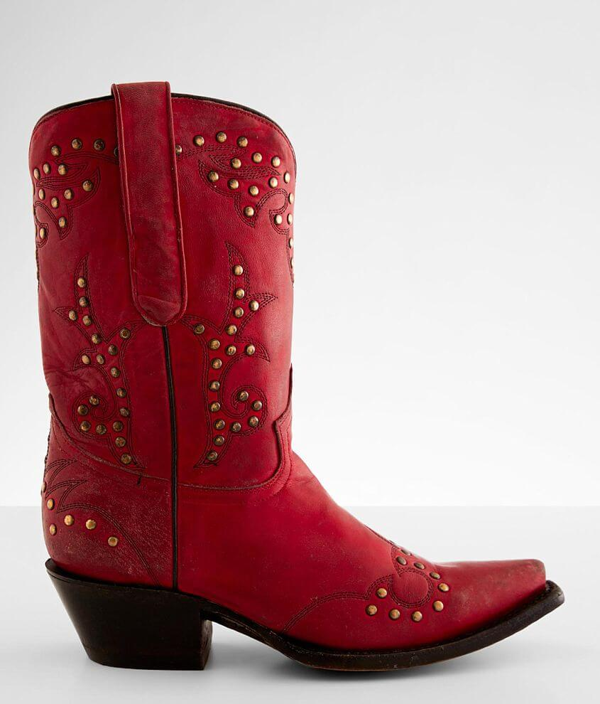 Corral Distressed Leather Western Boot front view