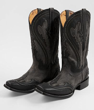 Corral Studded Leather Cowboy Boot