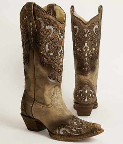 Corral Studded Cowboy Boot