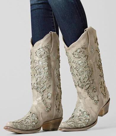 Corral Glitter Cowboy Boot