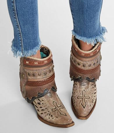 Corral Flipped Leather Western Boot