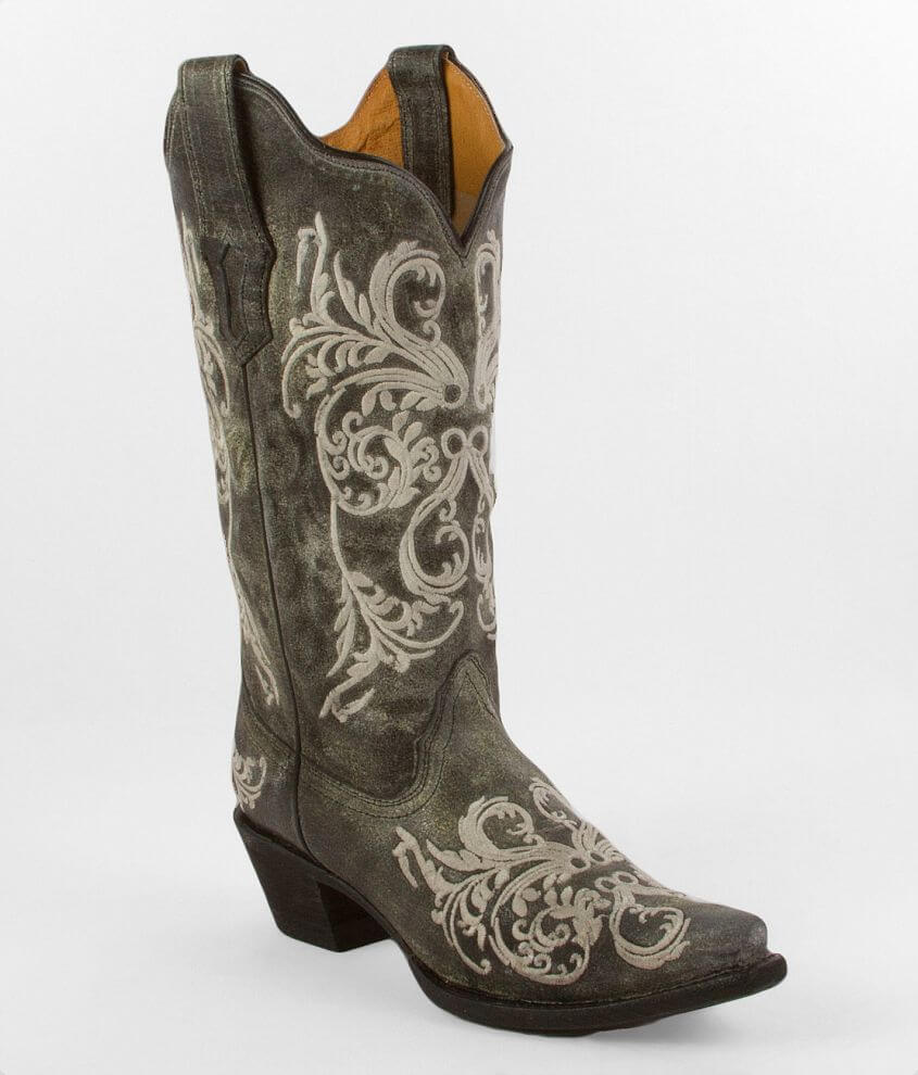 Corral Dahlia Cowboy Boot front view