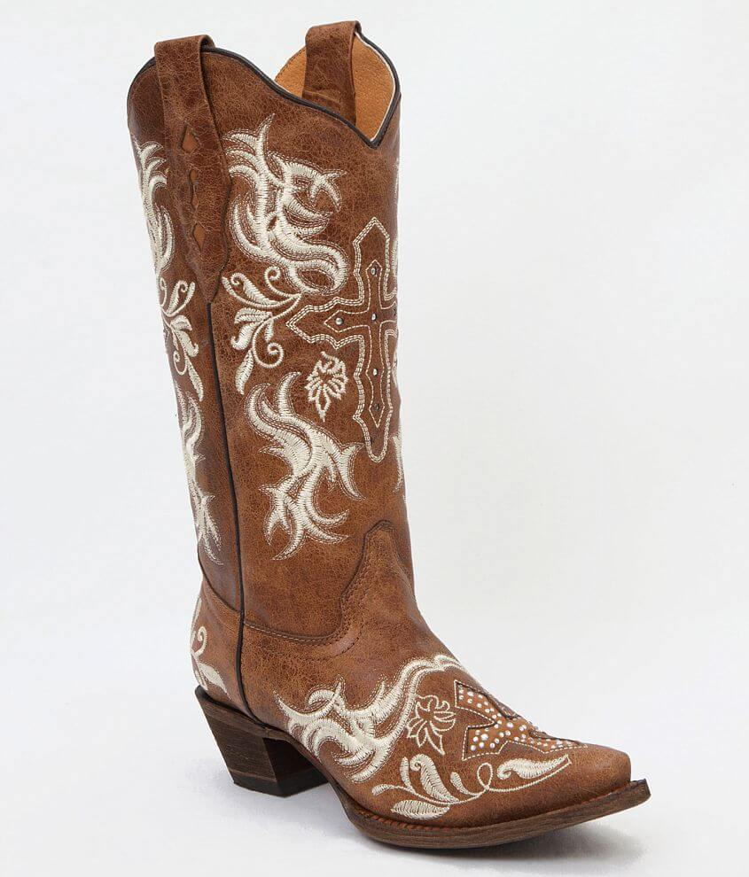 Corral Canton Cowboy Boot front view