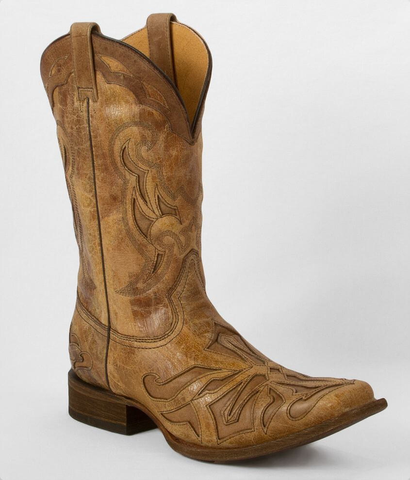 Corral Saddle Cowboy Boot front view