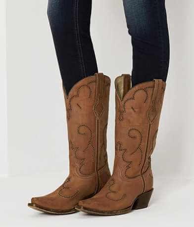 Corral Perforated Cowboy Boot