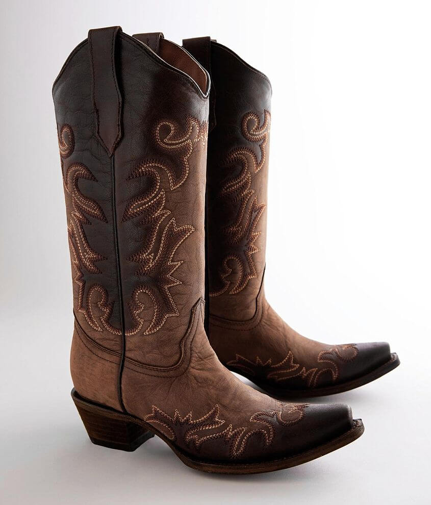 Circle G by Corral Leather Boot front view