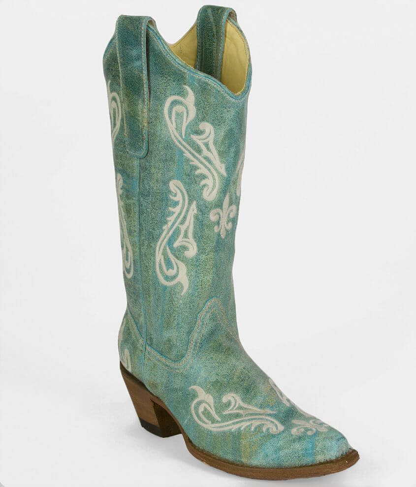 Corral Embroidered Cowboy Boot front view