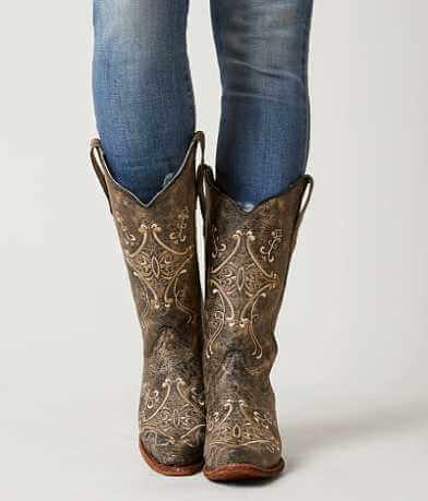 Circle G by Corral Crackle Cowboy Boot