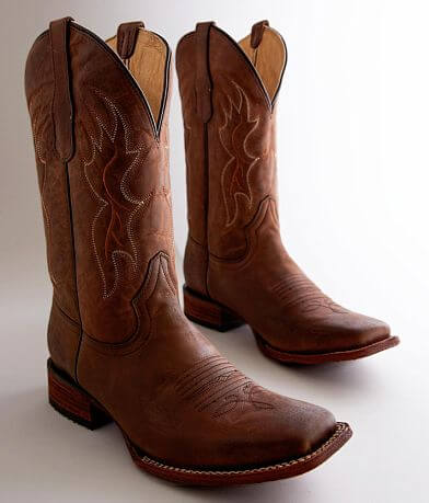 Circle G by Corral Basic Leather Cowboy Boot
