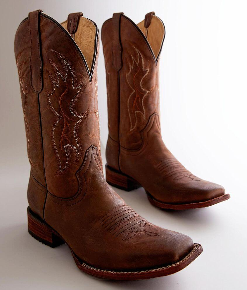Circle G by Corral Basic Leather Cowboy Boot front view