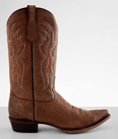 Circle G by Corral Embroidered Leather Cowboy Boot