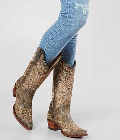Circle G by Corral Distressed Leather Western Boot
