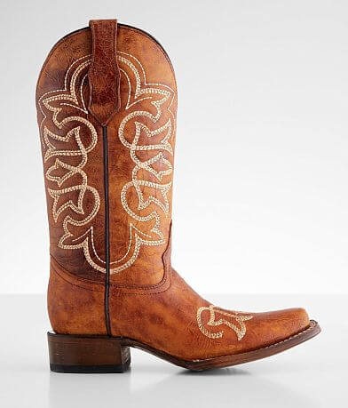 Circle G by Corral Shedron Leather Western Boot