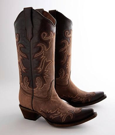 Circle G by Corral Tall Leather Western Boot