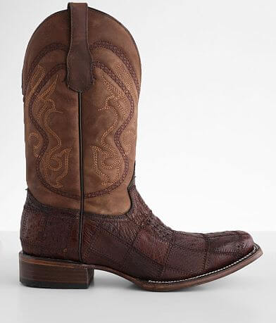 Circle G by Corral Caiman Leather Cowboy Boot