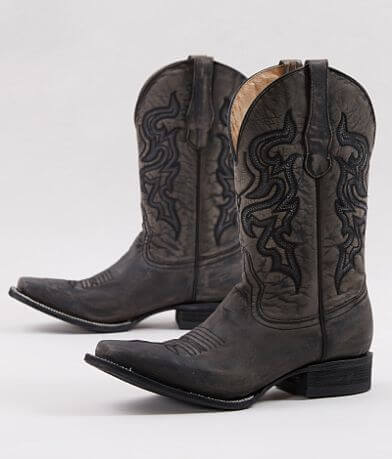 Circle G by Corral Distressed Leather Cowboy Boot