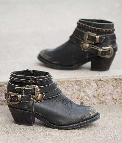 Corral Studded Cowboy Ankle Boot