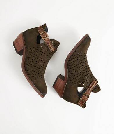 Circle G Suede Ankle Boot