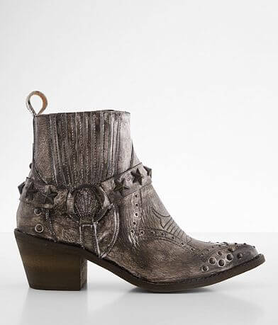 Circle G by Corral Studded Leather Western Boot