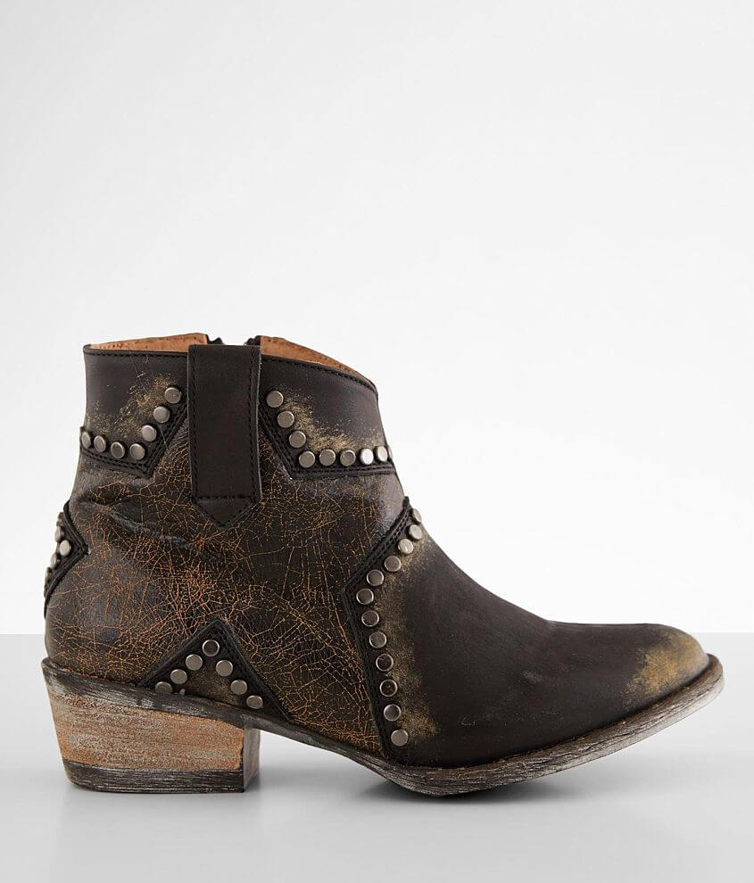 Circle G by Corral Leather Western Ankle Boot front view