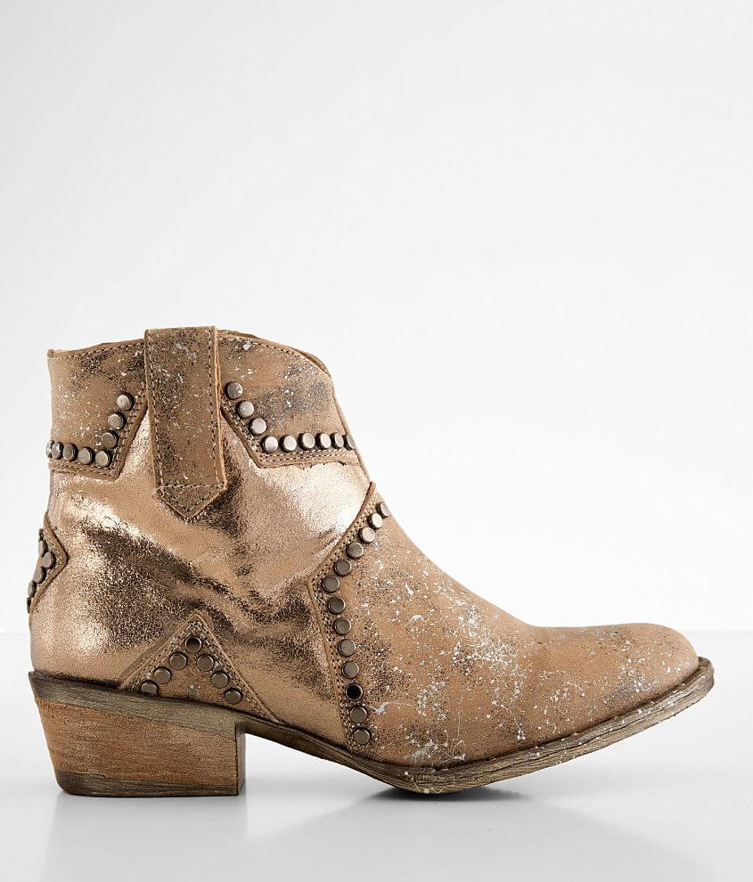 Circle G by Corral Star Leather Western Ankle Boot front view