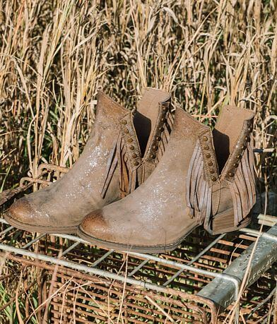 Circle G by Corral Fringe Leather Western Boot