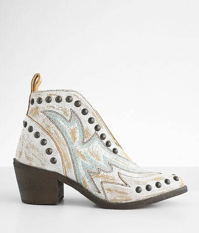Circle G by Corral Leather Western Ankle Boot