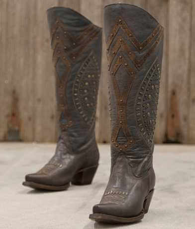 Corral Studded Riding Boot
