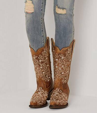 Corral Crystal Cowboy Boot