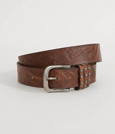 Circle G Textured Leather Belt