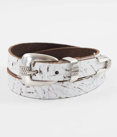 Indie Spirit Designs Worn Leather Belt