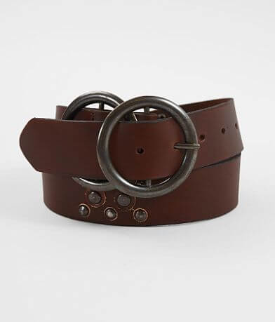 Indie Spirit Designs Double Circle Leather Belt