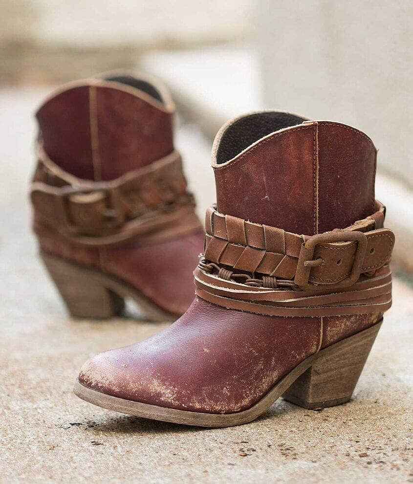 Indie Spirit by Corral Rosebud Western Ankle Boot front view