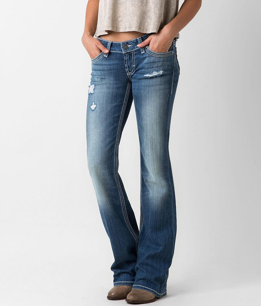 BKE Starlite Boot Stretch Jean front view