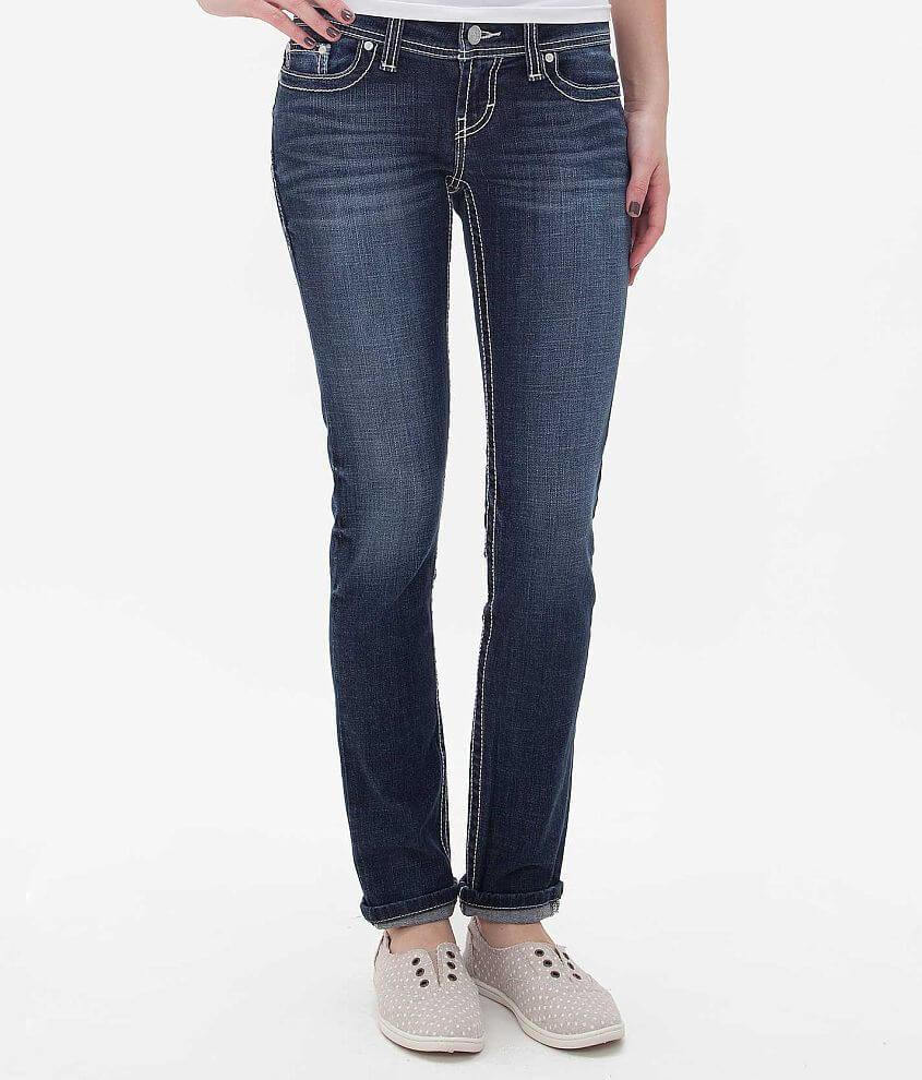 BKE Stella Ankle Skinny Jean front view