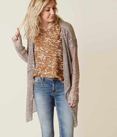 Daytrip Open Stitch Cardigan Sweater