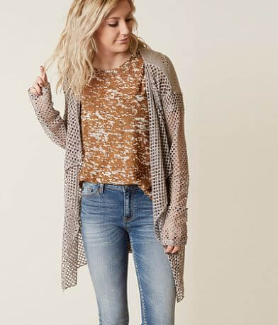 Daytrip Open Stitch Cardigan Sweater