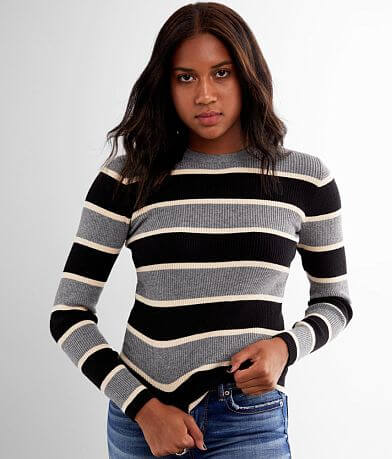 red by BKE Striped Sweater