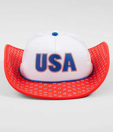 Cowbucker USA Trucker Hat