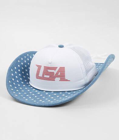 Cowbucker USA Trucker Hat
