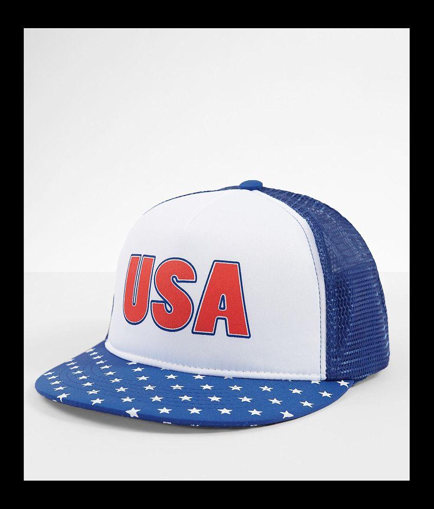 Cowbucker USA Trucker Hat front view