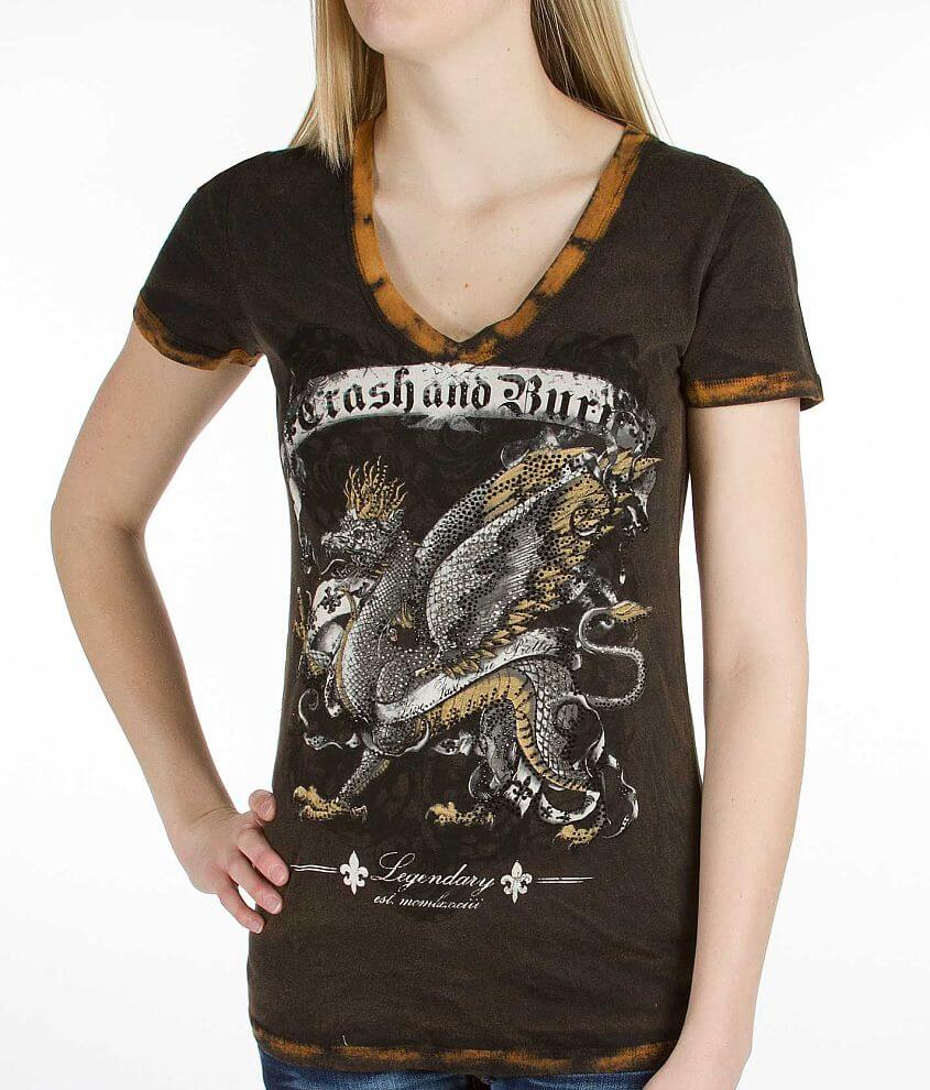 Crash & Burn Legendary T-Shirt front view