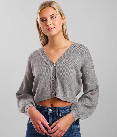 FITZ + EDDI Cropped Cardigan Sweater