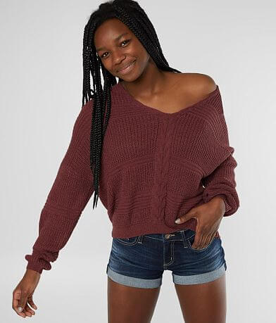 Daytrip Shaker Stitch Sweater