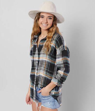 BKE Textured Woven Shirt