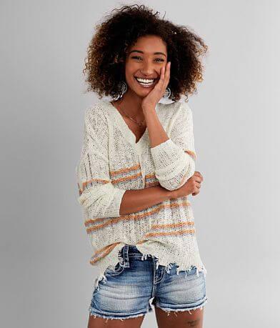Daytrip Striped Pullover Sweater