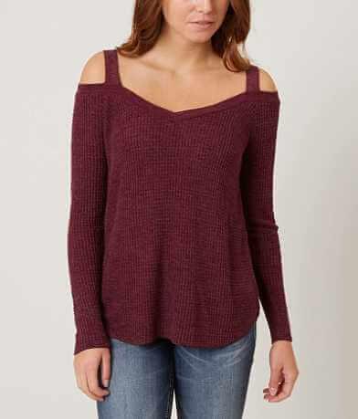Daytrip Cold Shoulder Sweater