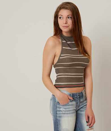 willow & root Open Weave Sweater Tank Top