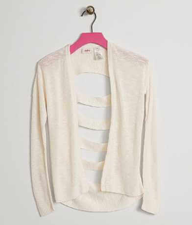 Girls - Daytrip Cutout Cardigan