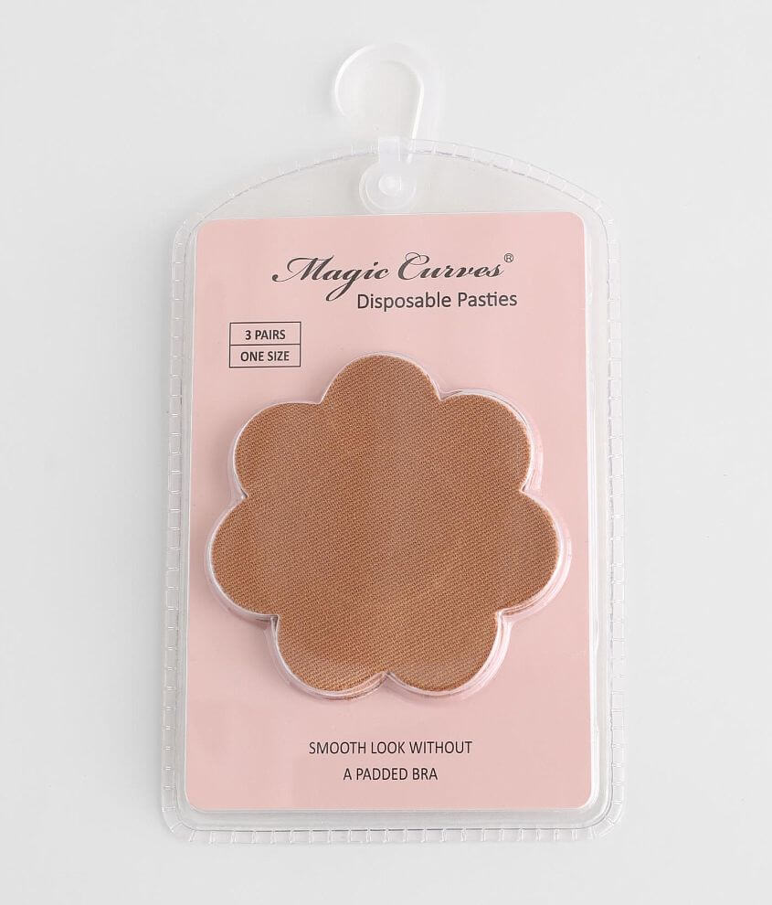 Magic Curves® 3 Pack Disposable Pasties front view